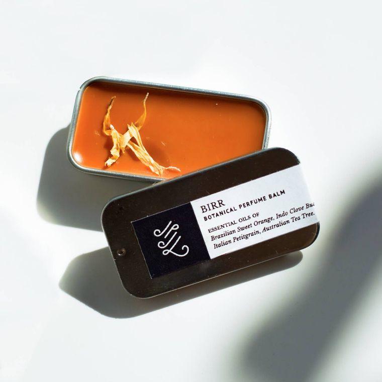 Natural Perfume Balm: Birr