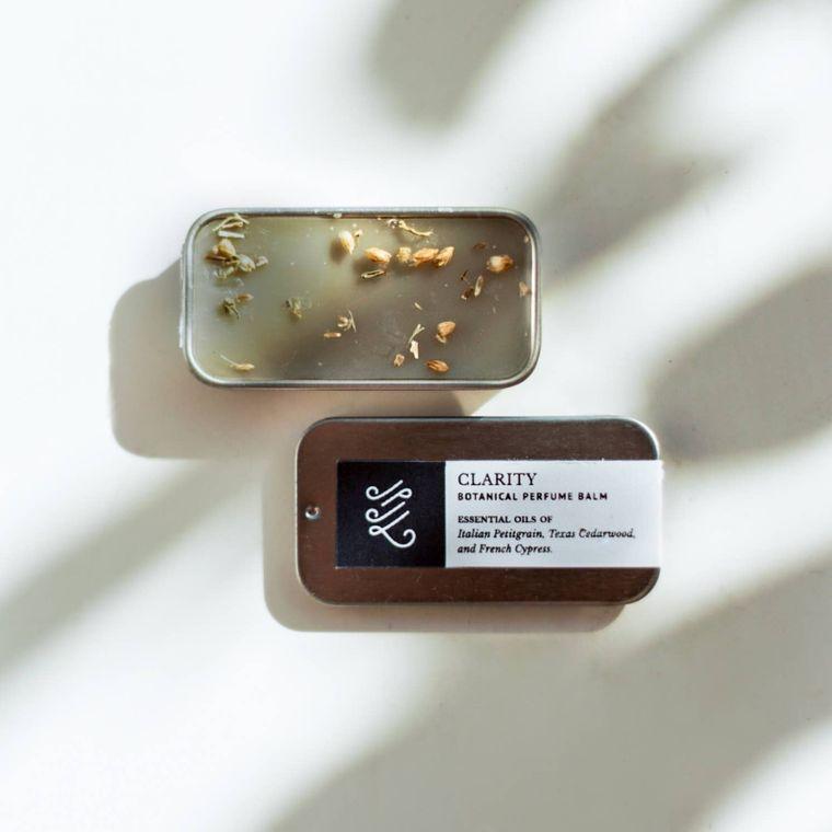 Natural Perfume Balm: Clarity
