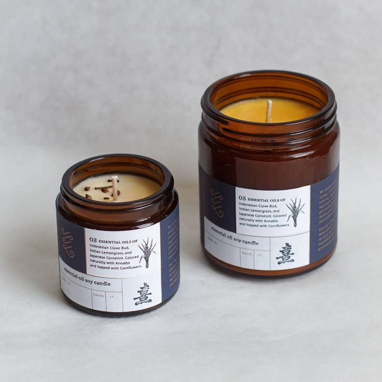 Essential Oil Candle: 03 (9oz)