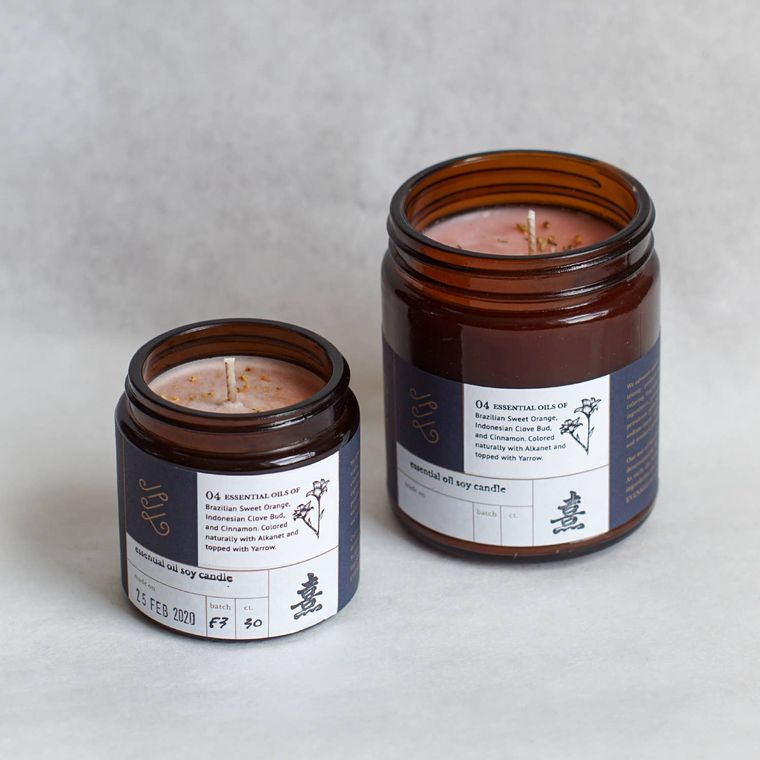 Essential Oil Candle: 04 (9oz)