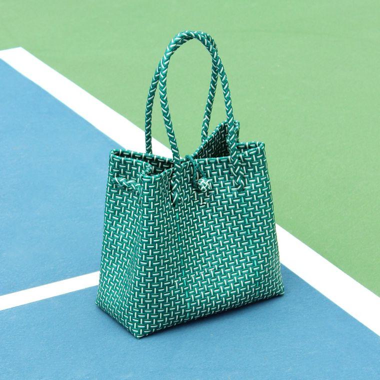 Green TOKO Recycled Woven Beach Bag (6-9 days)