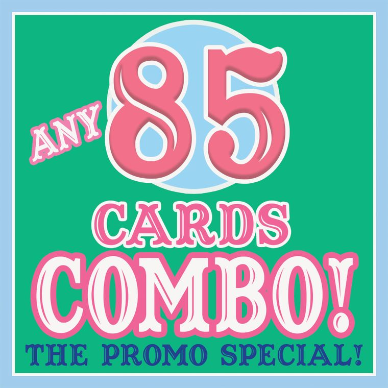 ANY 85 CARDS Discount COMBO