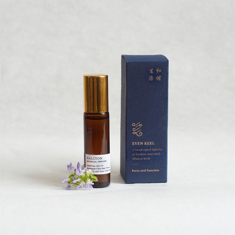 Botanical Perfume Oil: Halcyon
