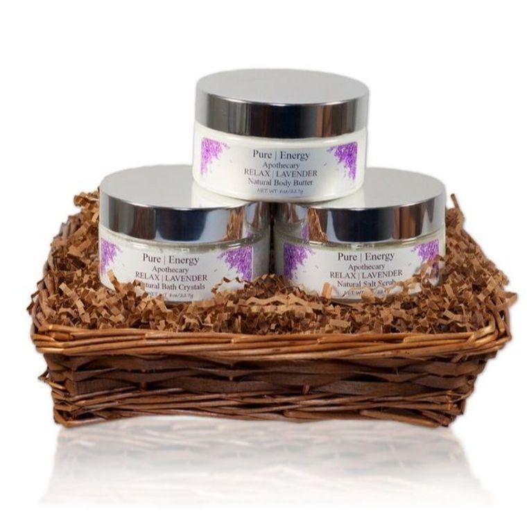 Supreme Sensations Gift Basket (Lavender)