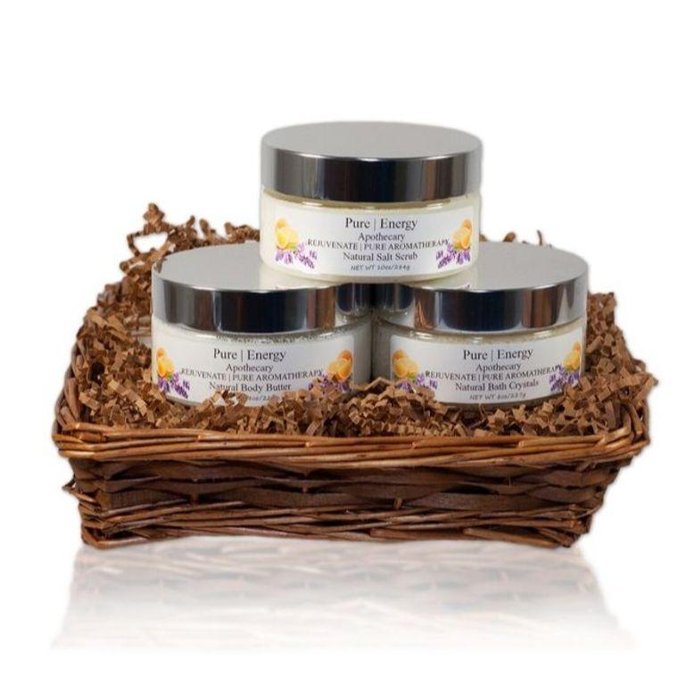 Supreme Sensations Gift Basket (Pure Aromatherapy)