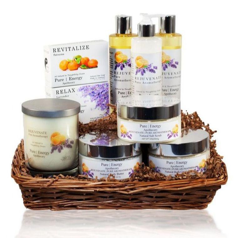 Premium Spa Gift Basket (Pure Aromatherapy)