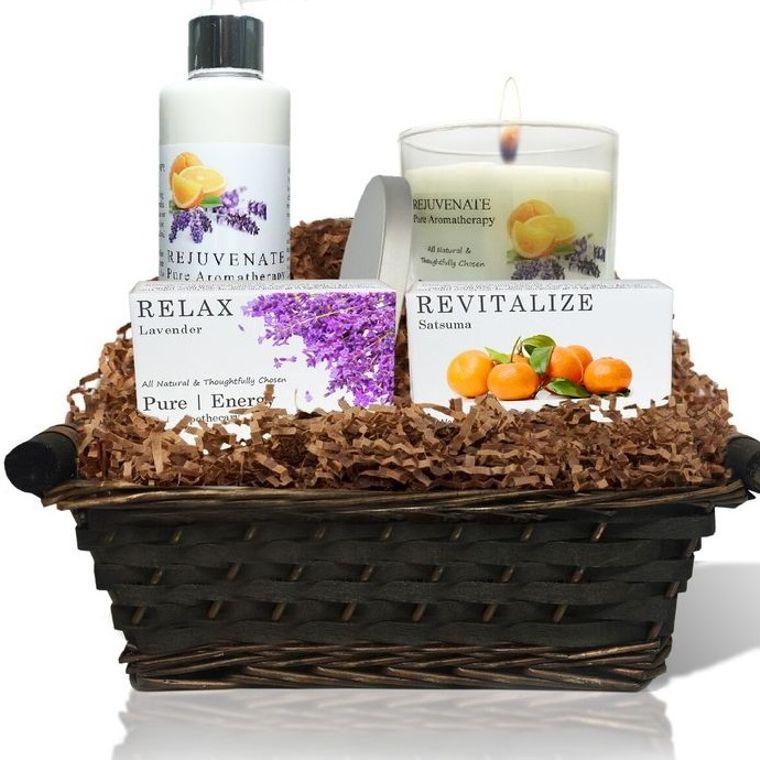 Nourishing Balance Gift Basket (Pure Aromatherapy)