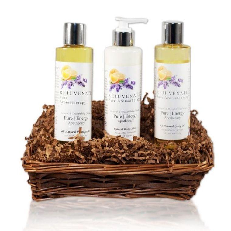 Moisture Madness Gift Basket (Pure Aromatherapy)