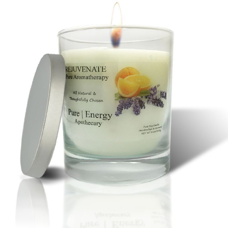 PURE AROMATHERAPY Soy Candle