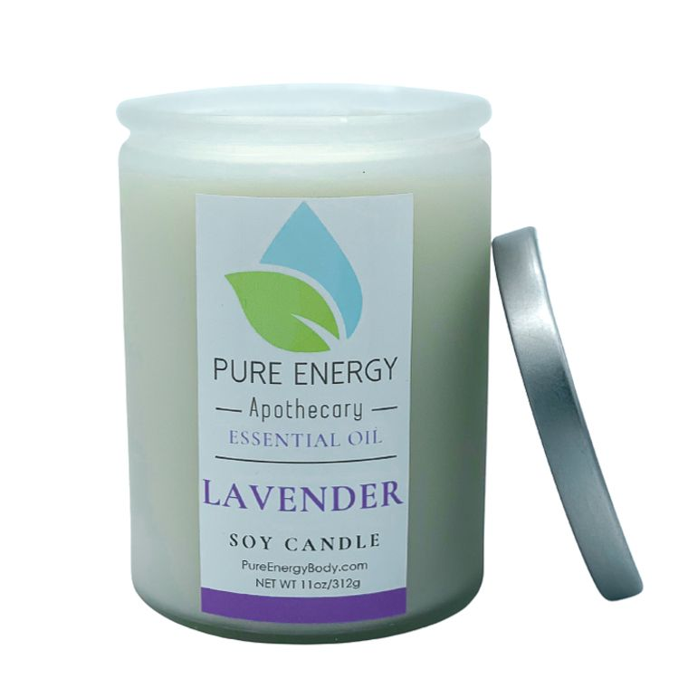 Soy Candle (Lavender)