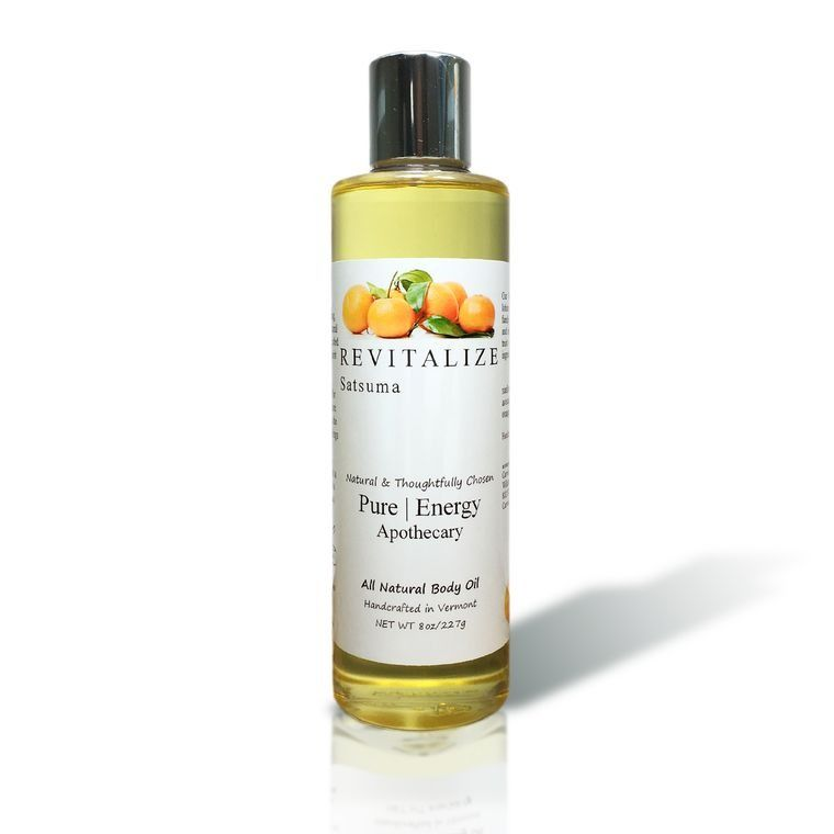 SATSUMA 8oz Body Oil