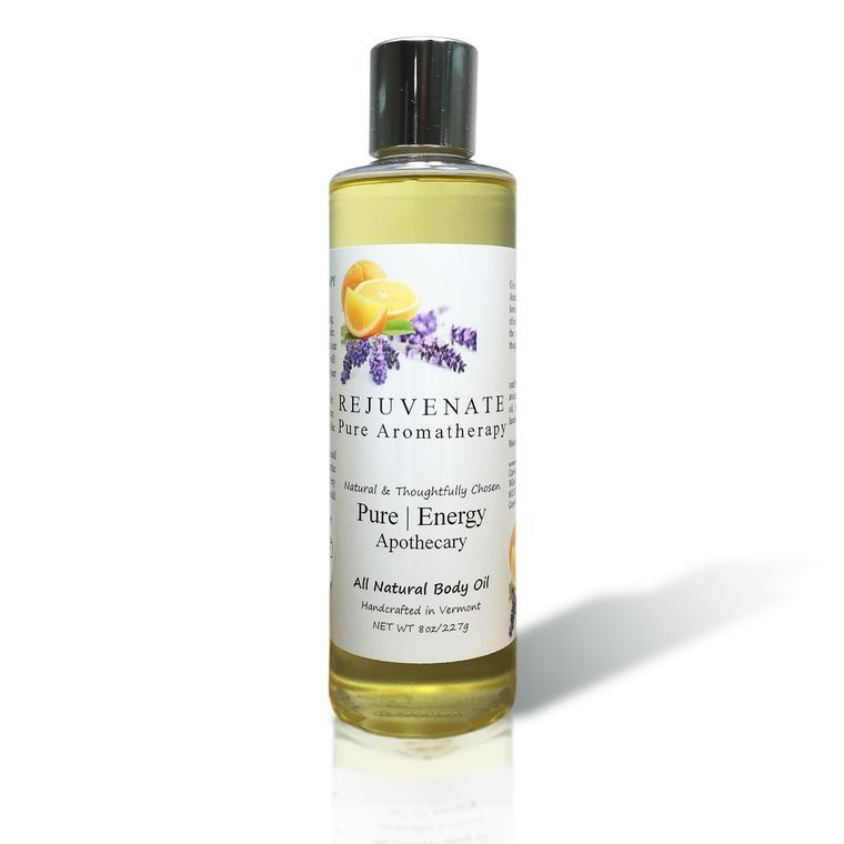 PURE AROMATHERAPY 8oz Body Oil