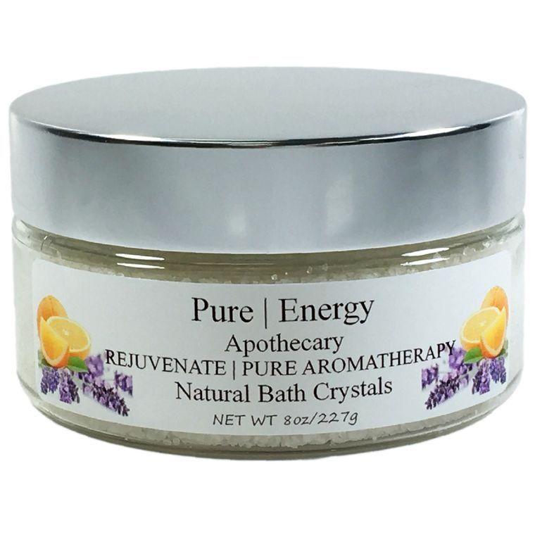 PURE AROMATHERAPY Bath Crystals
