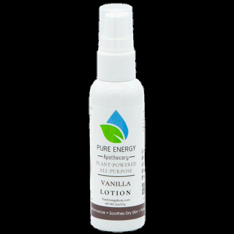 Natural All Purpose Lotion 2 oz (Vanilla)