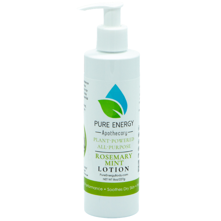Natural All Purpose Lotion 8 Oz (Rosemary Mint)