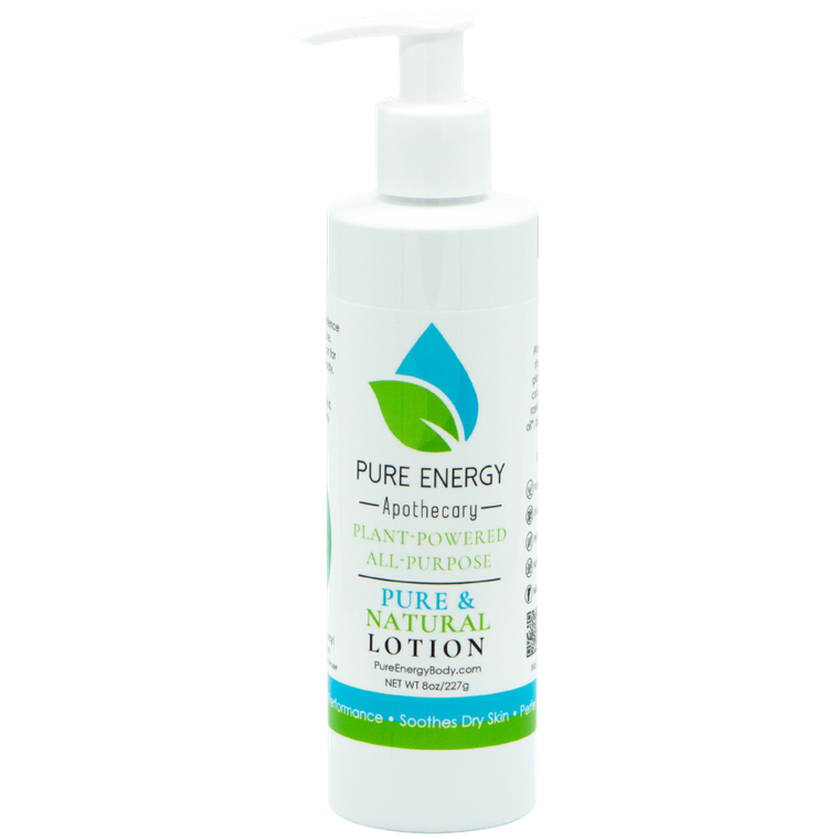 Natural All Purpose Lotion 8 Oz (Pure & Natural, Unscented)