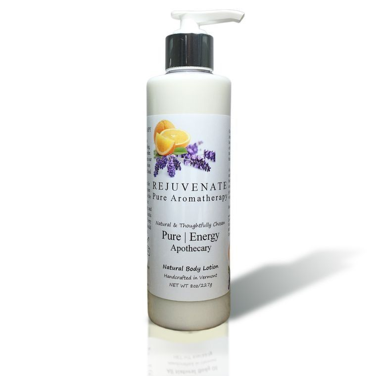PURE AROMATHERAPY 8oz Body Lotion