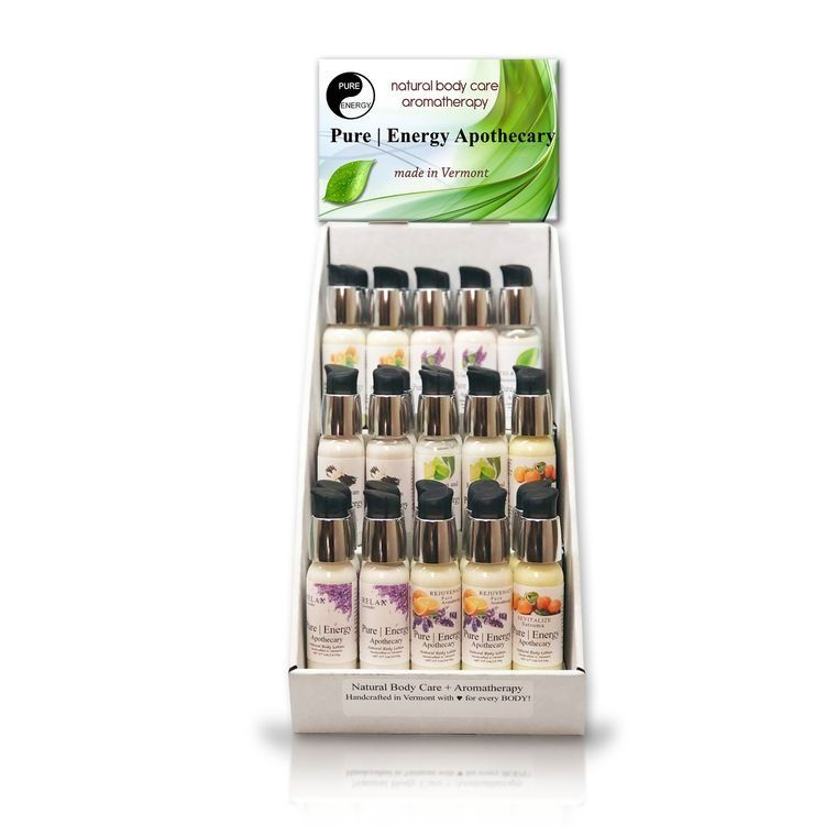Countertop Mini Body Lotion Display