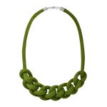 Rope Chain Necklace - olive