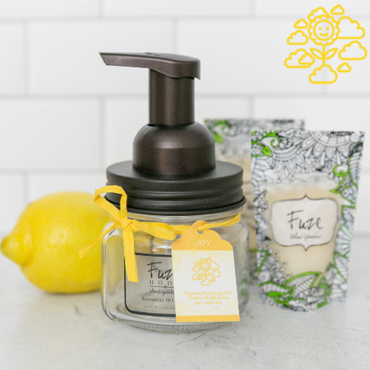 Foaming Essential Oil Hand Soap - Joy