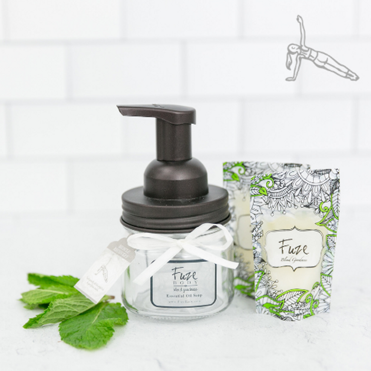Foaming Essential Oil Hand Soap - Muscle Recovery