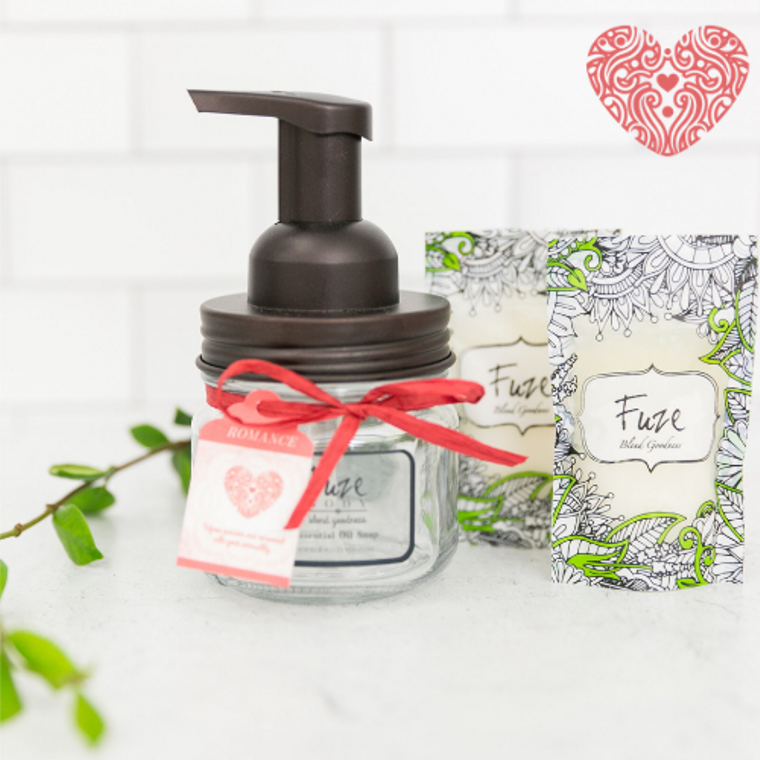 Foaming Essential Oil Hand Soap - Romance