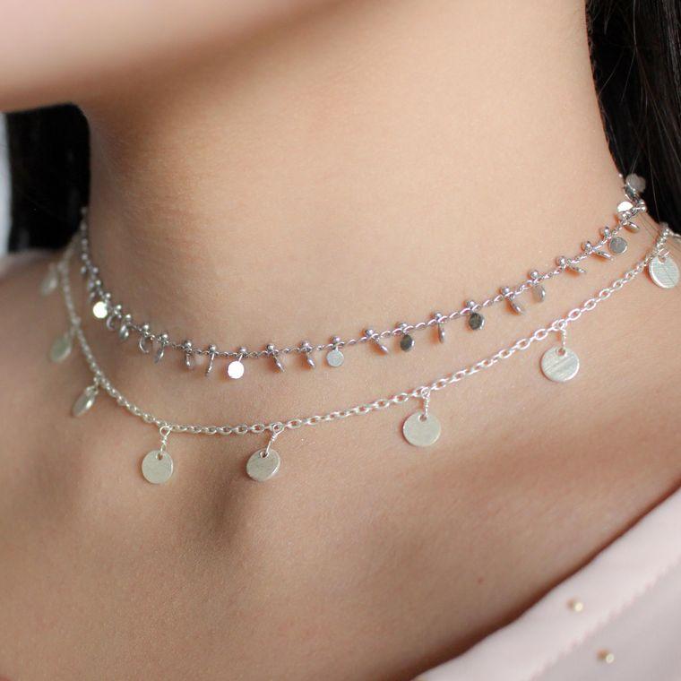 Gold Vivian Choker Necklace