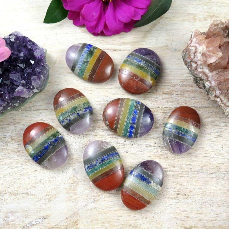 Chakra Worry Stones