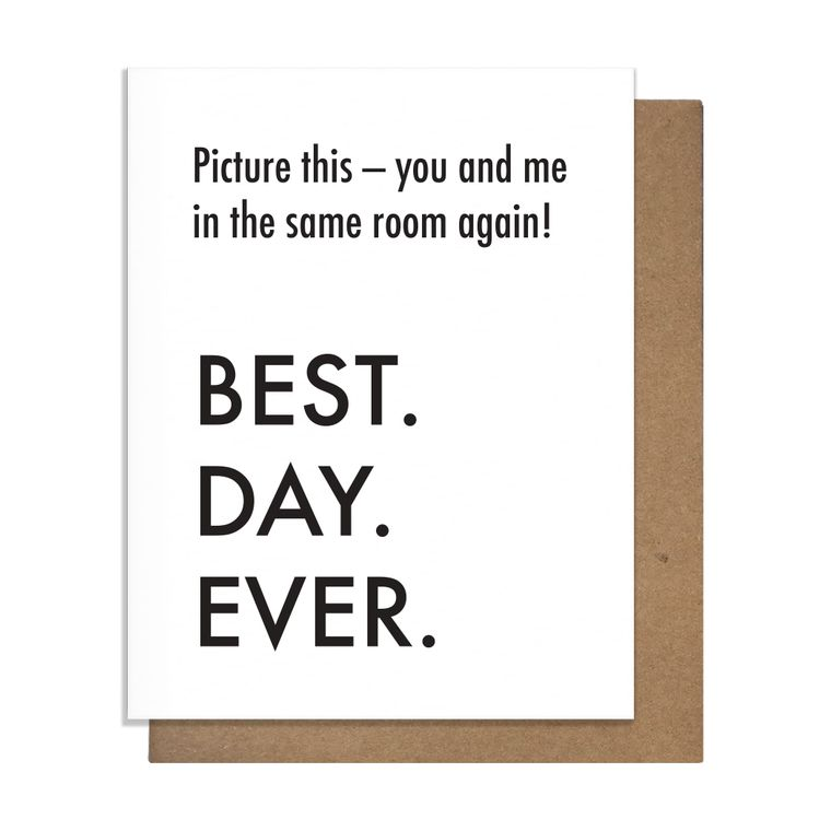 Best Day Same Room Card