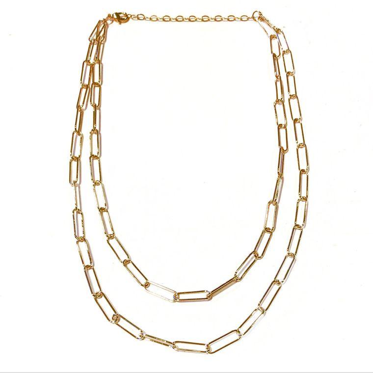 Sasha Double Chain Necklace