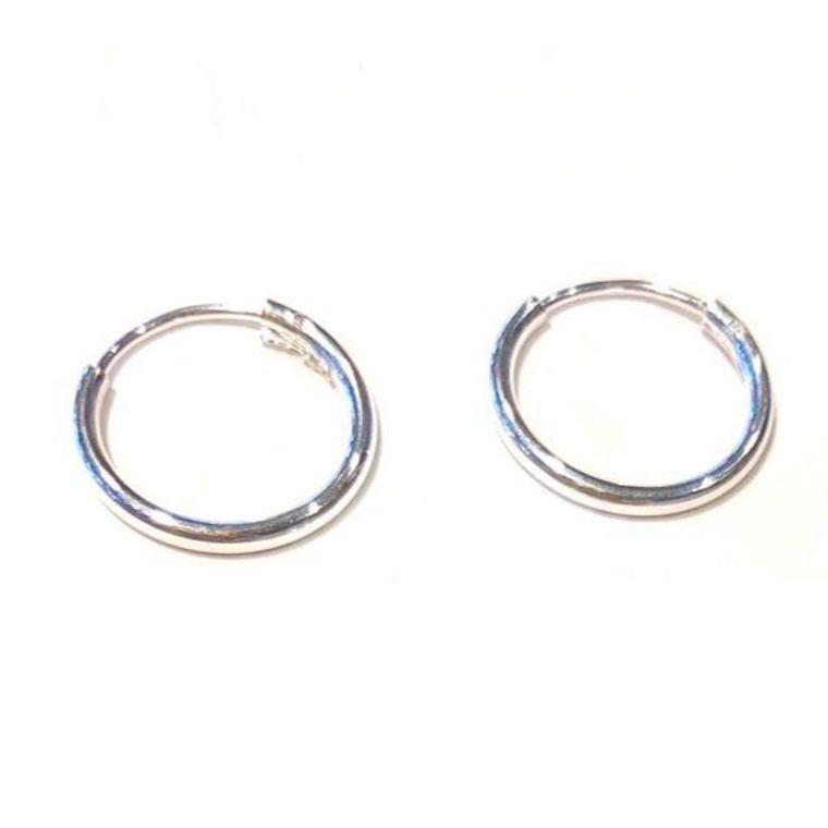 Hoop Huggies-Sterling Silver
