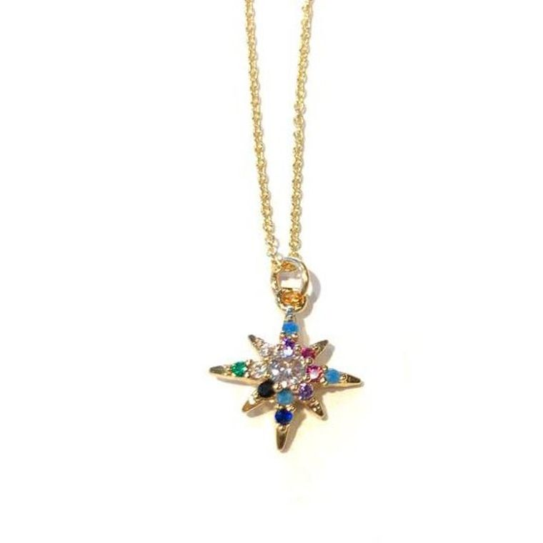 Indie Charm Necklaces-Star