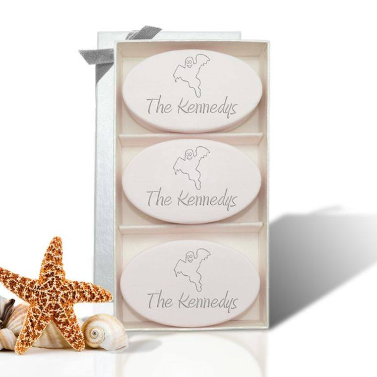 Signature Spa Trio Ghost Personalized Soap Gift Set