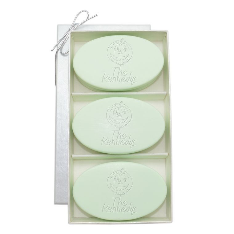 Signature Spa Trio Jack O' Lantern Personalized Soap Gift Set