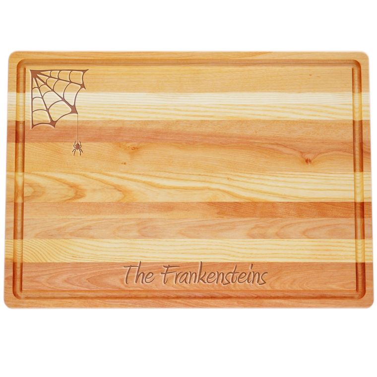 Master Collection Large Cutting Board & Serving Tray Personalized Web