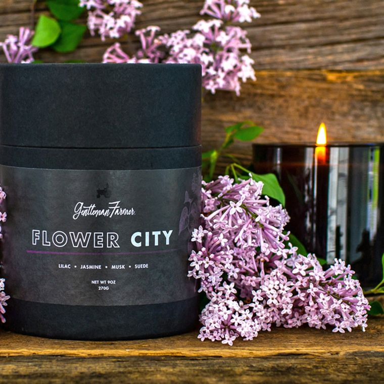 Flower City Candle