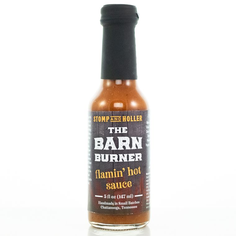 Stomp and Holler The Barn Burner Flamin' Hot Sauce