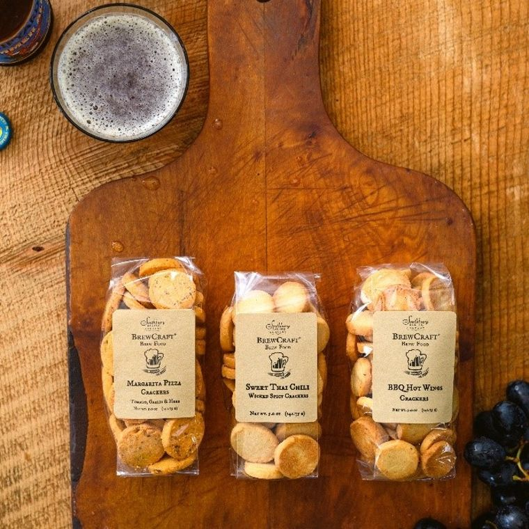 BrewCraft Brew Food Crackers