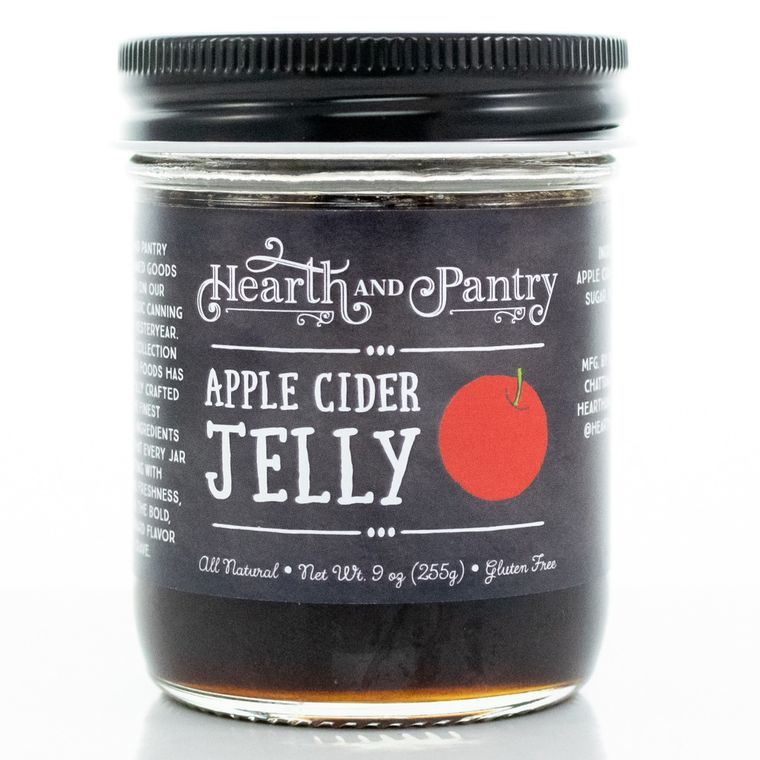 Hearth and Pantry Apple Cider Jelly
