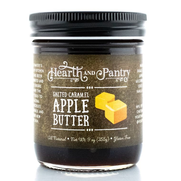 Hearth and Pantry Salted Caramel Apple Butter