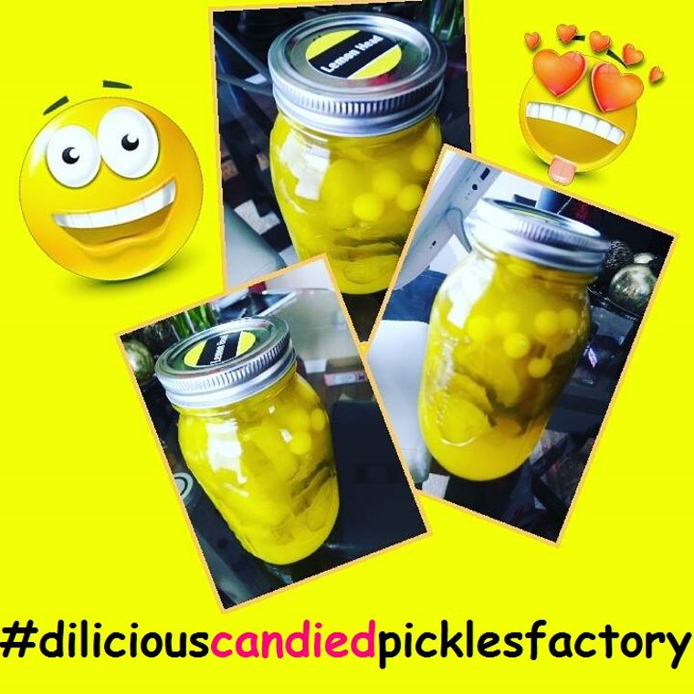 Di-Licous Candied Pickles