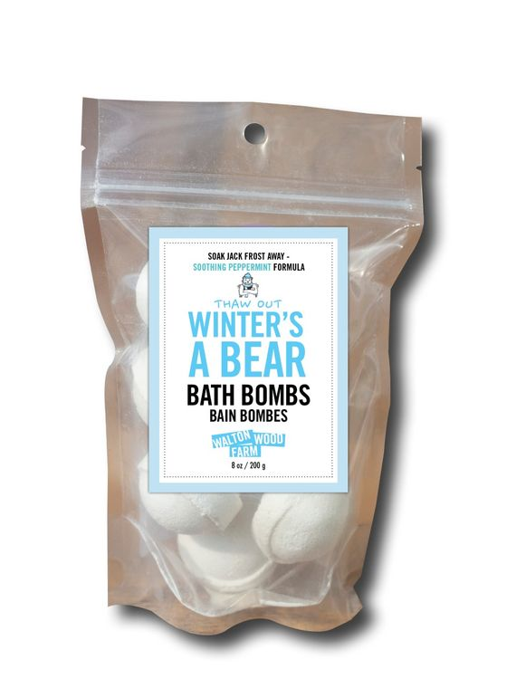 Bath Bombs - Winters A Bear 8 oz