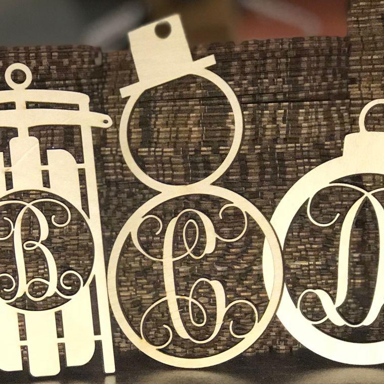 Wood Ornaments- Bulk Pack- Snowman Design