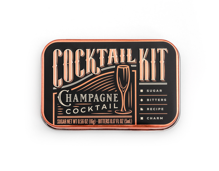 Cocktail Kit Casepack: Champagne Cocktail