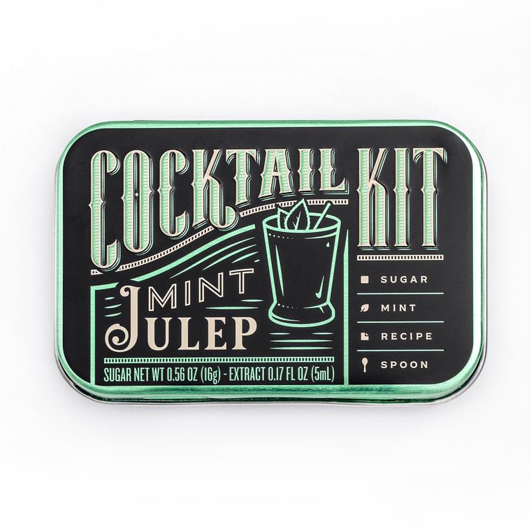 Cocktail Kit Casepack: Mint Julep