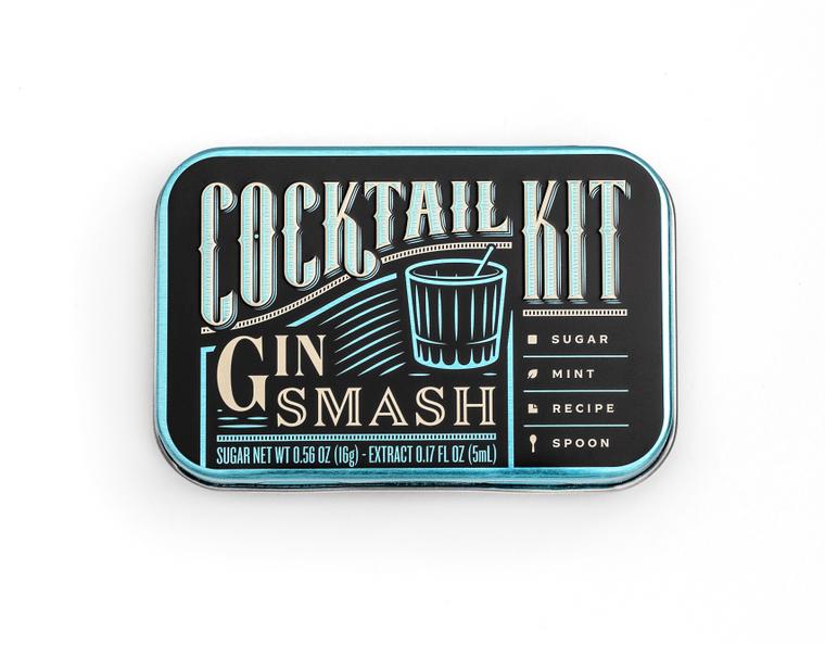 Cocktail Kit Casepack: Gin Smash