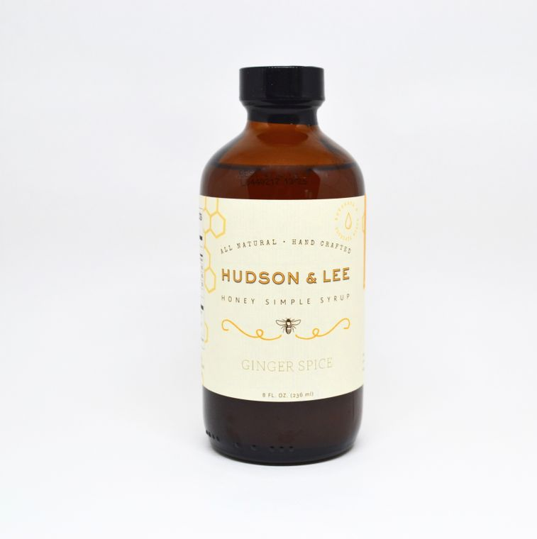 Hudson & Lee Ginger Spice Honey Simple Syrup