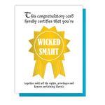 Wicked Smaht Card
