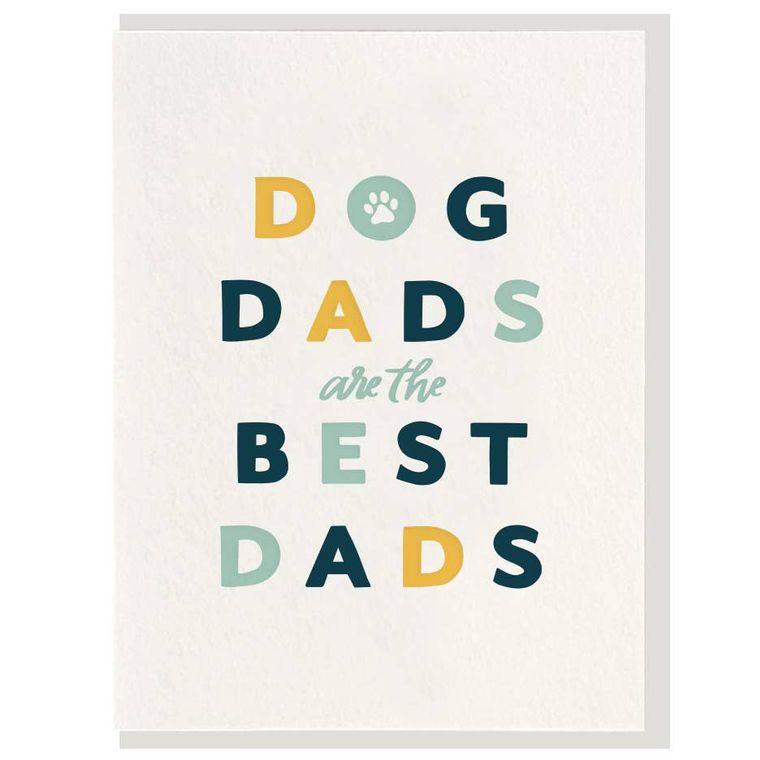 Dog Dad - Letterpress Card