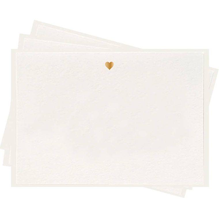 Heart - Fancy Flat Notes